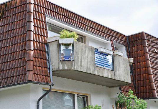 Immobilien in Verden Balkon